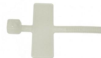 Cable Tie Marker Perak